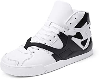 Men's Women's High Top Fashion Sneakers Korean-Style Casual Sports Shoes Walking Shoes