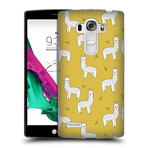 Offizielle Andrea Lauren Design Lama Tiere Harte Rueckseiten Huelle kompatibel mit LG G4 Beat / G4s / G4 s / H735