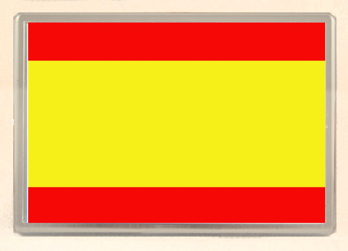 Bandera de España pizarra blanca/imán para nevera: Amazon.es: Hogar