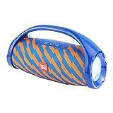 LIUJJ Haut-parleur sans fil Bluetooth son de carte pratique extérieure imperméable lampe de poche portable