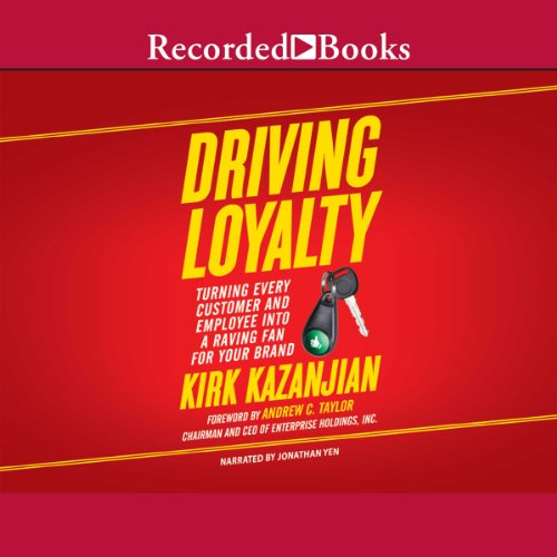 Driving Loyalty audiobook cover art