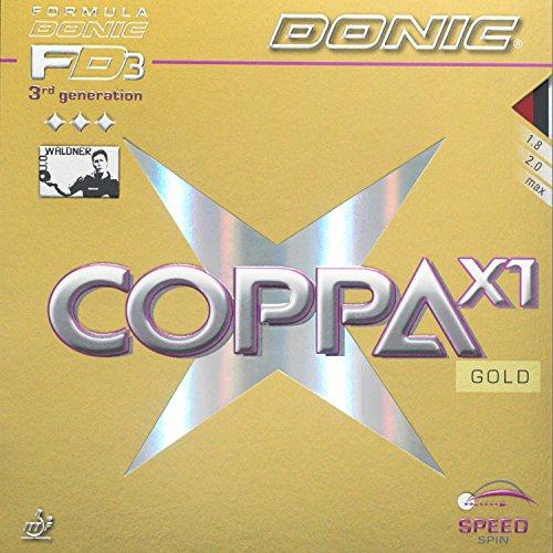 DONIC Coppa X1 Gold, TT-Belag, OVP, inkl. Lieferung