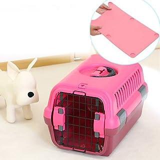 キャンピングキャリーS ピンク+キャリーマット レギュラー ピンク セット キャリーバッグ キャリーケース クレート(5kgまで)