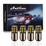 Antline 1157 2057 2357 7528 BAY15D LED Bulbs Amber Yellow, 12-24V Super Bright...