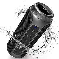 ①【Alta Potenza & Ottimo suono】-L'altoparlante bluetooth portatili Zamkol ZK202 adotta driver al magnete al neodimio ad alta potenza 2x15W, gli alti sono chiaro e bilanciato, i bassi sono profondi e potenti. Con la tecnologia di riduzione del rumore e...