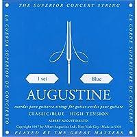 AUGUSTINE BLUE SET×7セット オーガスチンクラシックギター弦 ブルー