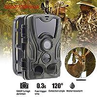 Andoer 2.0インチLEDスクリーンハンティングトライアルカメラ 16MP 1080P HD 940nm IR IP65防水ゲームカメラセキュリティスカウティング