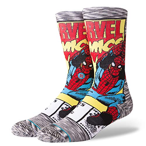 Stance Calcetines Marvel Spiderman Comic Everyday Light Cushion Gris 38-42 EU