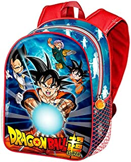 Mochila de Dragon Ball Z Super para colegio 37cm dibujos son Goku Vegeta Trunks