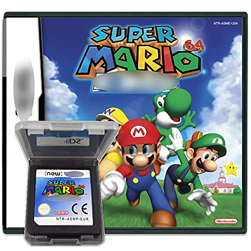 New Super Mario 64 Version Games Card Cartridge Card Compatible with...