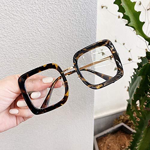 4pcs Blue Light Blocking Glasses, Computer Reading/TV/Phones Glasses for Women Men, Protect Eyes Strain Headache & Glare (Leopard)