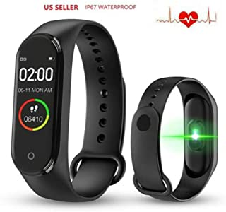 EYESKY M4 Smart Watch Fitness Tracker with IPS Color Screen, Activity Tracker Watch Bracelet Wristband with Step Counter, Calorie Counter, Pedometer Watch for Kids Women and Men