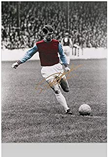 Geoff Hurst Signed Photograph - Sir Great - Autographed Soccer Photos