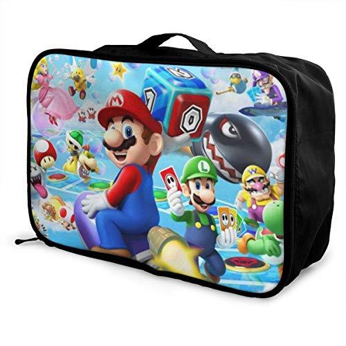 Game Travel Lage Bolsa de viaje para mujeres y hombres, impermeable, gran capacidad de bapa ligera, bolsas portátiles
