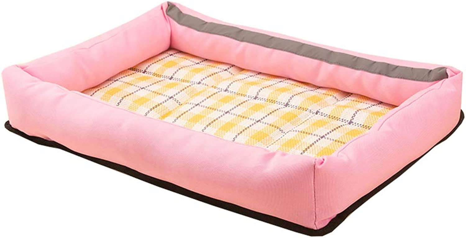 Dog Bed, Soft Warm Pet Bed Puppy Dog Mat Pad Cat Sleeping Cushion Suits for Daily Use Pet Sofa Dog House Pet Nest (color   10, Size   XL)