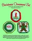 Christmas Ornament Set: Plastic Canvas Pattern (English Edition)