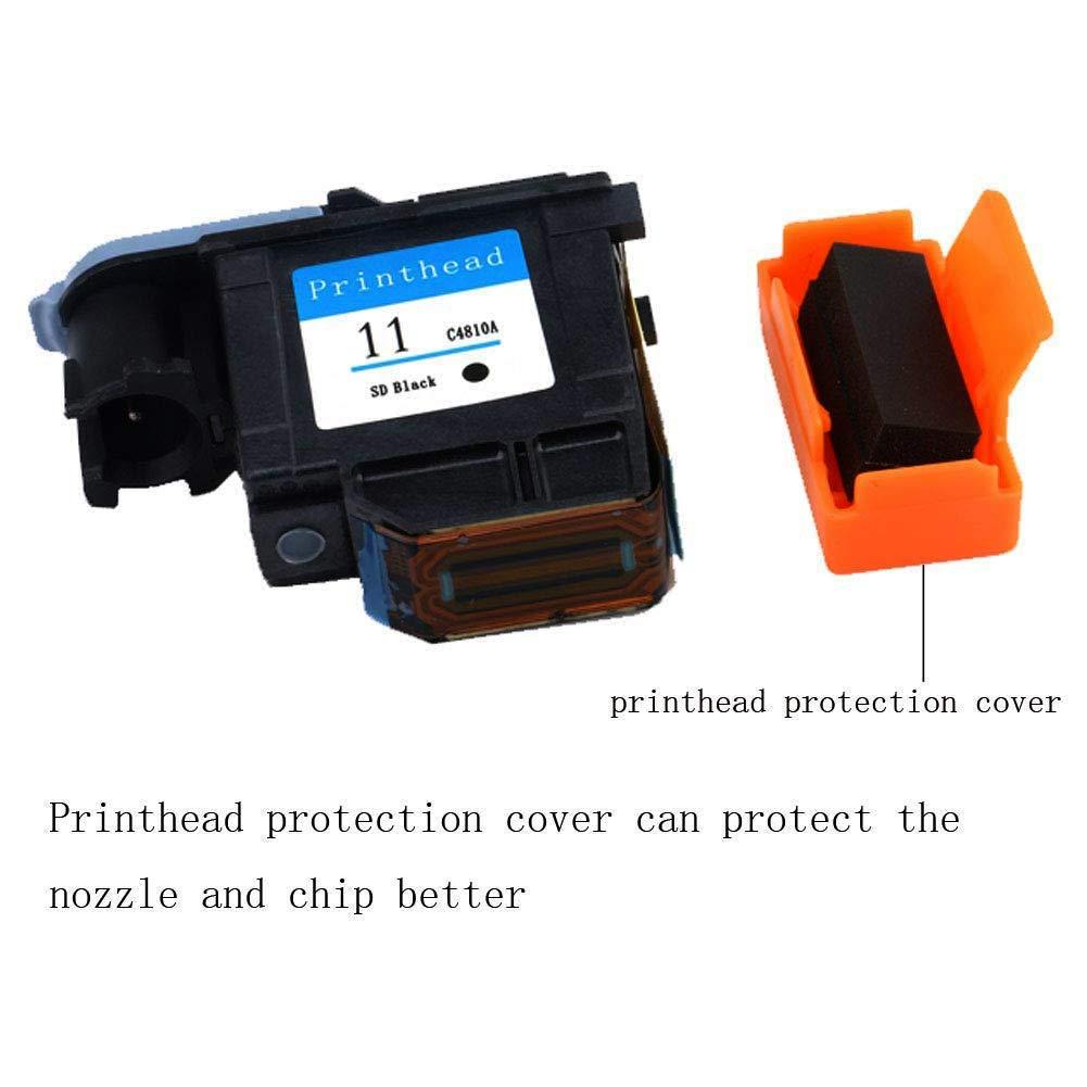 Teng® - Cabezal de impresión HP 11 C4811A Compatible con HP ...