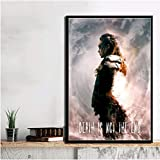 PCWDEDIAN The Season 100 Series De TV Horror Show Movie Canvas Poster Prints Modern Oil Painting Wall Art Pictures Home Decor Pl117 50X70Cm