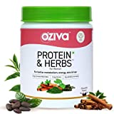 Protein powder derived from plants with natural herbs