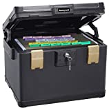 Honeywell Safes & Door Locks - 1 Hour Fire Safe Waterproof Filing Safe Box Chest (fits Letter, A4, and Legal Files), Large, 1108