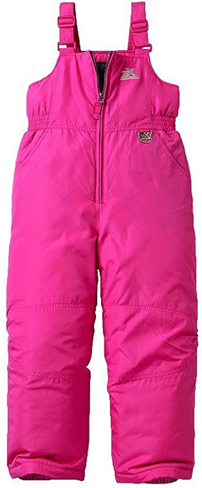 ZeroXposur Girls Snow Pants Skiing and Snowboarding Water Resistant Girls Snow Bibs Overall