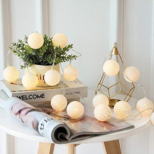 Impermeable Grieta Pelotas de Guirnalda de luz decoración de la Secuencia de iluminación al Aire Libre de Año Nuevo árbol de Navidad de Las Luces de la decoración Weeding Operación fácil