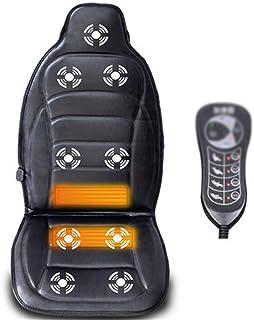 AXROAD MALL Suave Coche masajeador Automotive vértebra Cervical del Cuello Presidente de la Cintura Cojín de Cuerpo Completo con calefacción Colchón de Masaje Mat