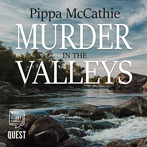 Murder in the Valleys audiobook cover art