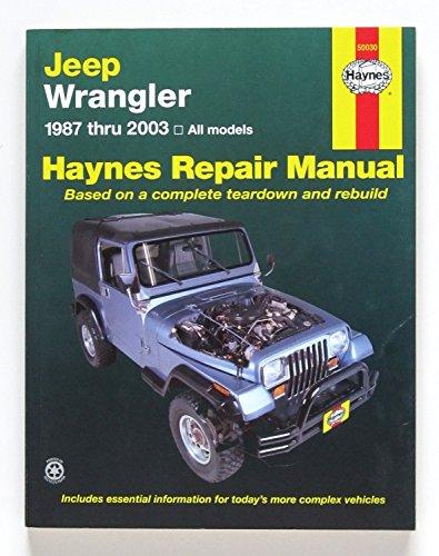 Haynes Jeep Wranglar (87-17) Manual (50030)