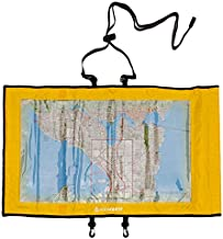 Aqua Quest Trail Map Case - 100% Waterproof Document Dry Bag Holder with Clear Window & Lanyard