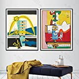 Le Corbusier Kunst Poster Surreal Kubismus Wandkunst