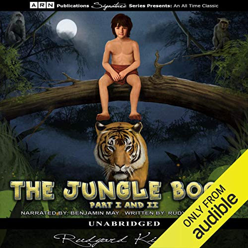 The Jungle Book audiobook cover art