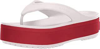 Crocs Unisex's Crocband Platform Flip U Beach & Pool Shoes, Medium