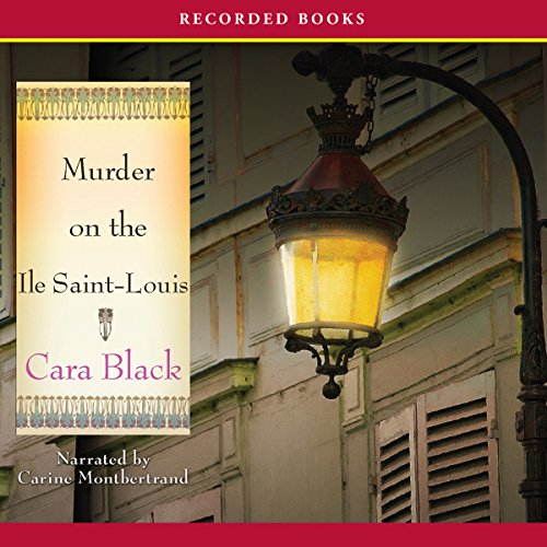 Murder on the Ile Saint Louis cover art