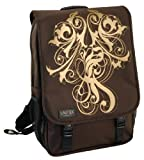 Laurex Medium Laptop Daily Backpack - Gold Vine. Brown. One Size.