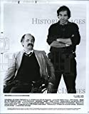 Historic Images - 1989 Press Photo Ron Kovic & Director Oliver Stone of Born On The Fourth of July