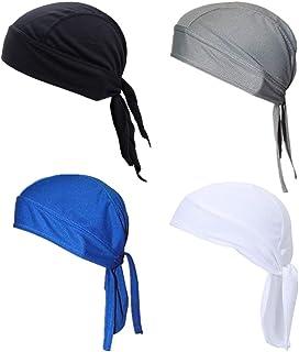 comprar comparacion Guifier 4 unids deportes al aire libre cabeza abrigo sudor gorro transpirable malla Ciclismo gorras gorras ciclismo bandan...