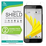 (2-Pack) RinoGear HTC Bolt Screen Protector Case Friendly Screen Protector for HTC Bolt Accessory Full Coverage Clear Film
