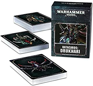 Best datacards drukhari Reviews