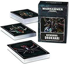 Warhammer 40,000 Drukhari Datacards 8th edition