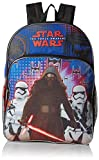 Star Wars Boys' Kylo & Stormtroopers Backpack, Blue/black, 16' X 12' X 5'