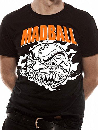 Madball - Classic Ball T-Shirt, schwarz, Grösse M