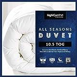Night Comfort All Seasons Deluxe Feels Like Down Anti Allergy 10.5 Tog Light Hollowfibre Duvet (Single)