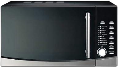 Ohmex OHM-MWO-3088DG - Horno de microondas con capacidad del horno 30 L, 6 reloj digital, 230 V/50 Hz, función de parrilla, color gris
