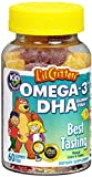 L'il Critters Omega-3 Gummy Fish 60 Each (Pack of 2)