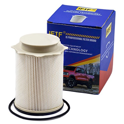 Fuel Filter 68157291AA Replacement for 2010-2017 Dodge Ram 2500, 3500, 4500, 5500 6.7L Turbo Diesel Engines Precision Designed Element Removes Microscopic Allow Enough Fluid or Air Flow