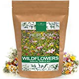 Wildflower Seeds | Mix of 21 Different Varieties of Non-GMO Wildflower Seeds | Bee and Butterfly...