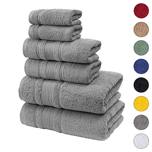 Qute Home Spa & Hotel Towels 6 P...
