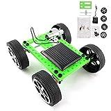 Zerodis Zusammengebautes Solarauto DIY Physikalische Wissenschaft Solarbetriebenes Kraftfahrzeug Früherzieher Lernen Puzzle Spielzeug Playset für Kinder Pädagogische Projekte -