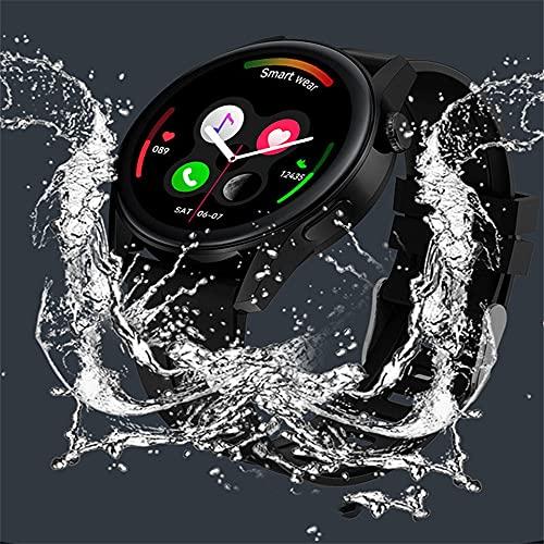chengjinhuashangmao Smart Watch Bluetooth Llamada Música Reproducción Monitoreo de Salud Ritmo cardíaco (Color : 2)